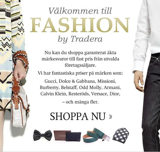 Välkommen till Fashion by Tradera